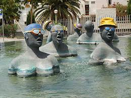 De Zwemmers fontein