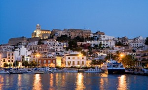 Harbour Ibiza Town Ibiza Balearic Islands Spain