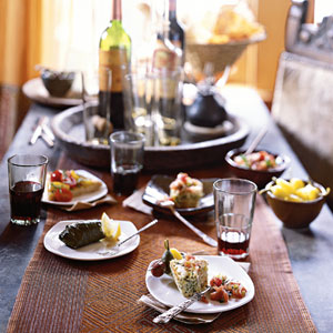 Gedekte tafel Spanje