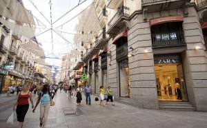 shoppen in madrid