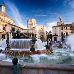 Binnenstad Valencia