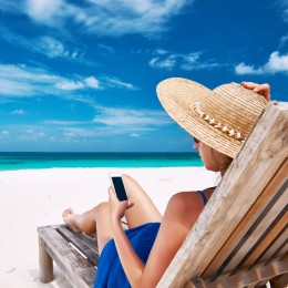Tripadvisor app op vakantie